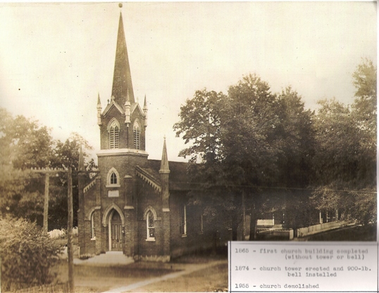 Evangelical Church Built in 1865
